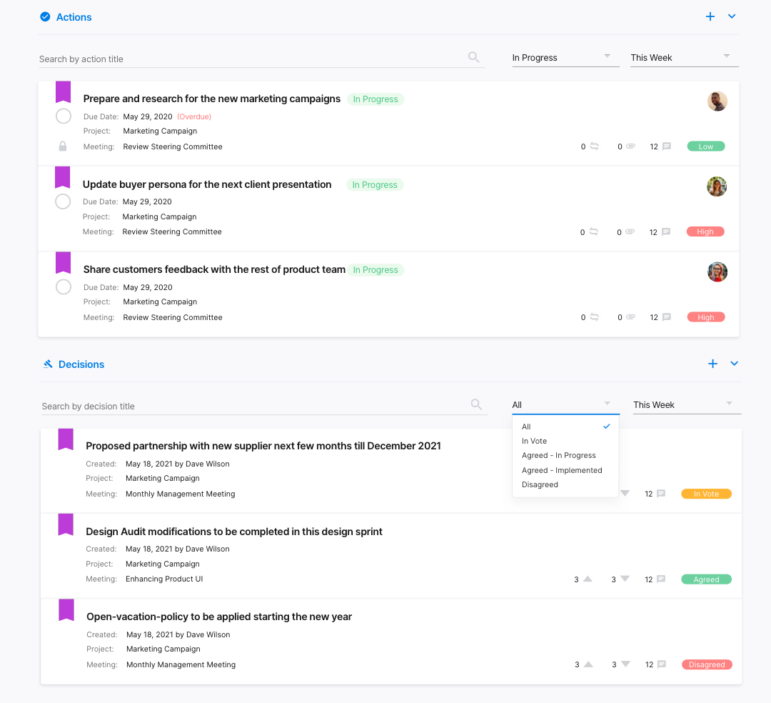 2.2.2 Projects - Project Dashboard - Updated 1