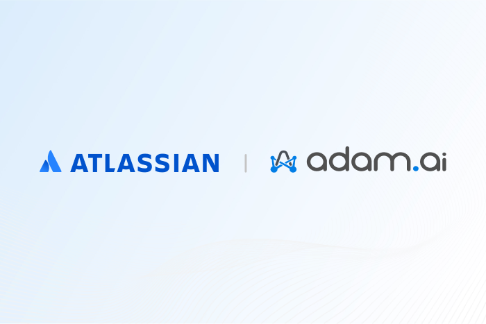 adam.ai closed a pre-seed round directly from Atlassian