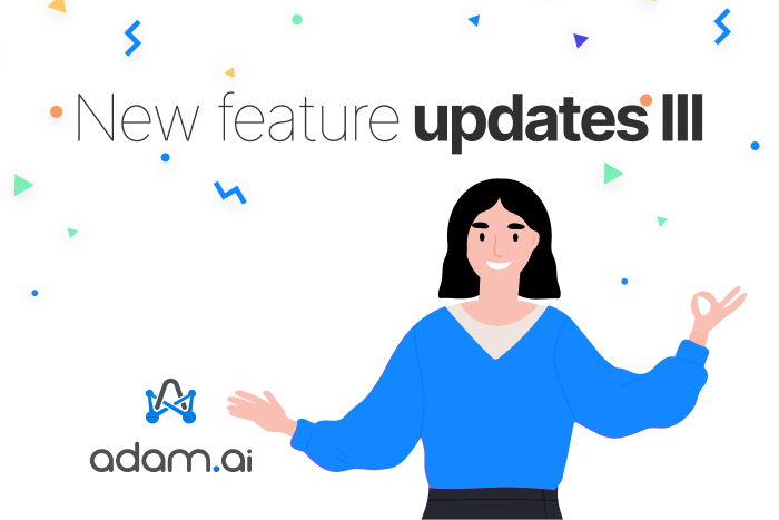 October feature update release for adam.ai
